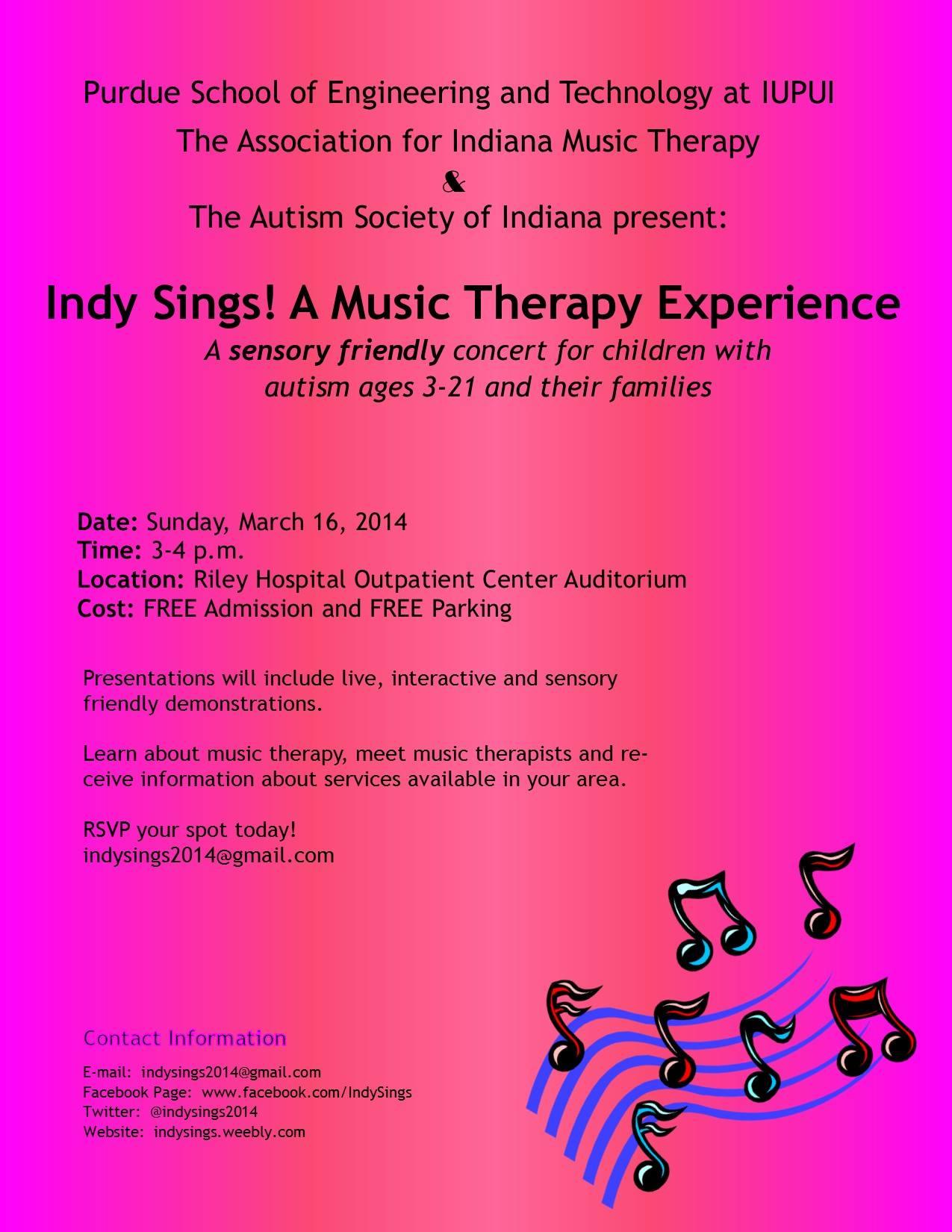 Indy Sings!